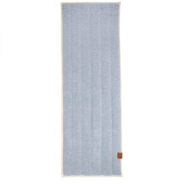 100% zuiver wollen yogamat blauw