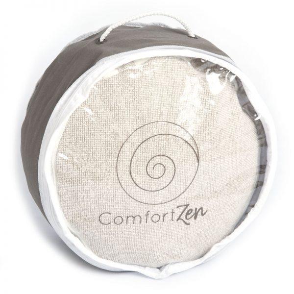 draagtas linnen meditatiekussen ComfortZen